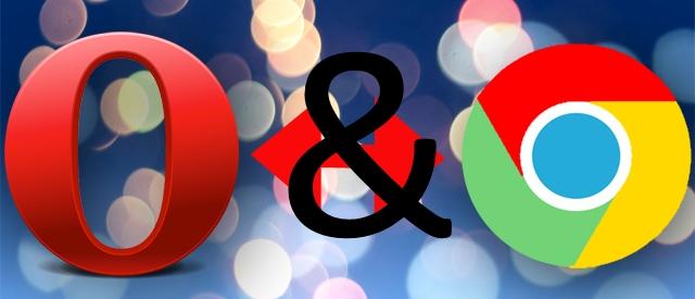Opera vs Chrome